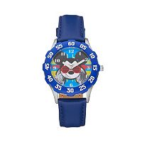 Disney's Mickey Mouse DJ Boys' Leather Watch