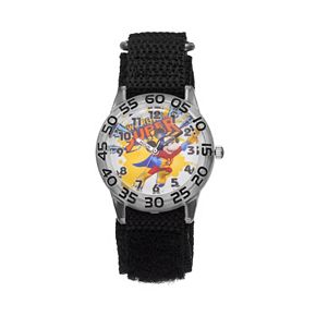 """Disney's Mickey Mouse """"We're All Super"""" Boys' Time Teacher Watch"""