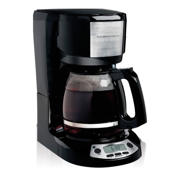 programmable coffee maker hamilton 12 cup programmable coffee maker 31084