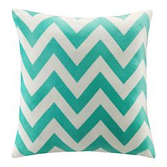 Intelligent Design Plush Chevron Throw Pillow