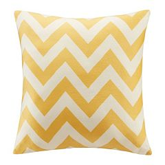 Intelligent Design Plush Chevron Throw Pillow