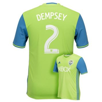 Men's adidas Seattle Sounders Clint Dempsey Replica Jersey