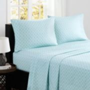 Madison Park 4-piece Fretwork Cotton Sheet Set