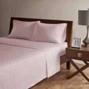 Madison Park 4-piece Fretwork Cotton Sheet Set