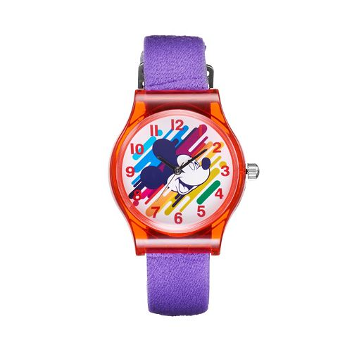 Disney's Mickey Mouse Watercolor Girls' Watch