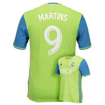 Men's adidas Seattle Sounders Obafemi Martins Replica Jersey