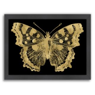 Americanflat Butterfly 1 Framed Wall Art