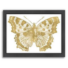 Americanflat Butterfly 1 Framed Wall Art