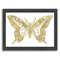 Americanflat Butterfly 2 Framed Wall Art