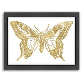 Americanflat Butterfly 2 Framed Wall Art