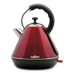 Salton Retro Pyramid 1.8-Liter Stainless Steel Electric Teakettle
