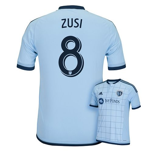 Men's adidas Sporting Kansas City Graham Zusi Jersey