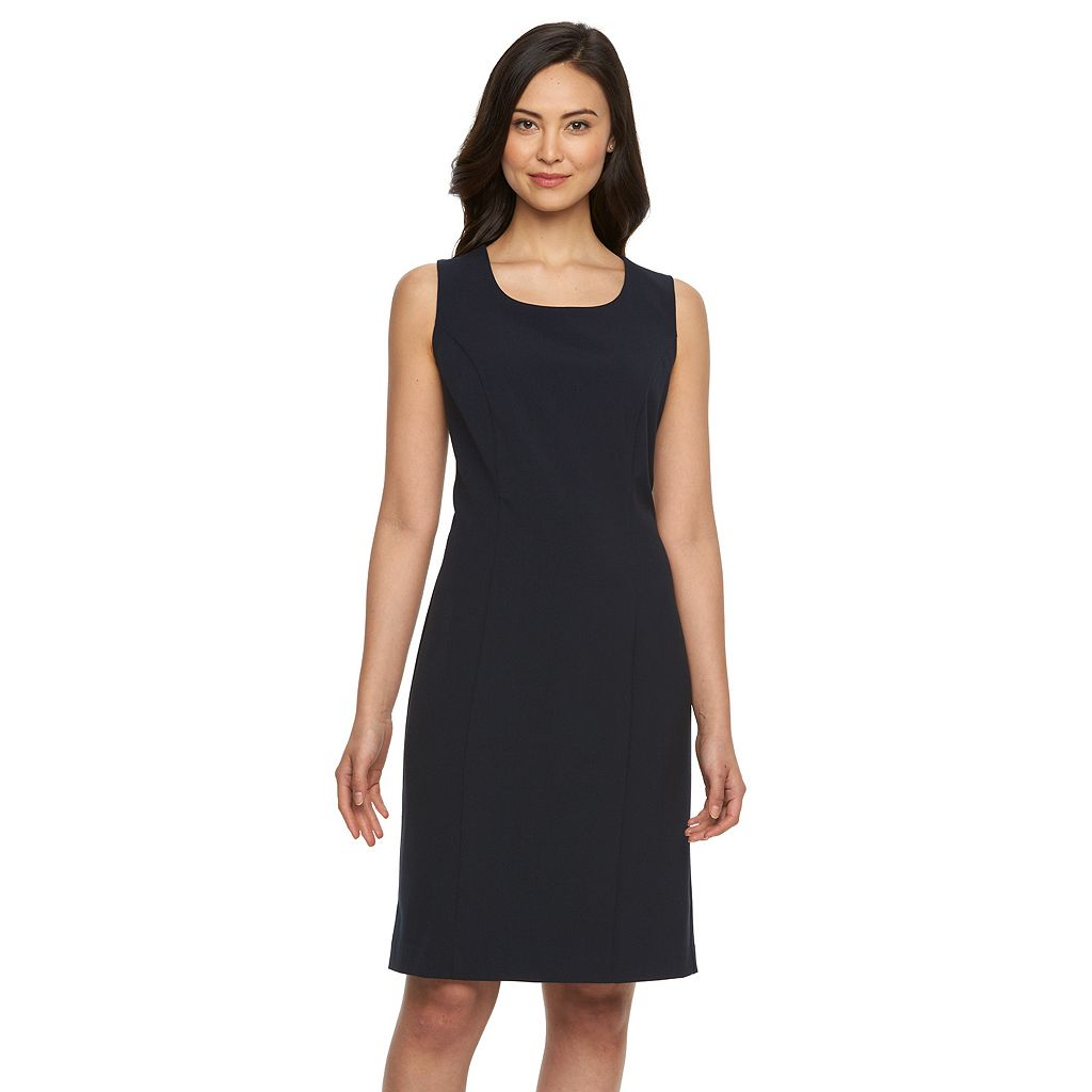 Petite Briggs Scoopneck Sheath Dress