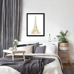 """Americanflat """"Eiffel Tower"""" Framed Wall Art by Amy Brinkman"""
