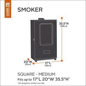 Classic Accessories Veranda Square Smoker Cover