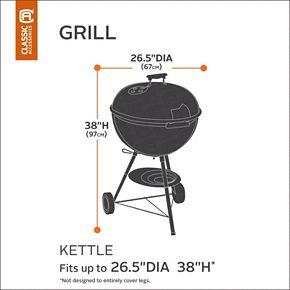 Classic Accessories Veranda Kettle BBQ Grill Cover
