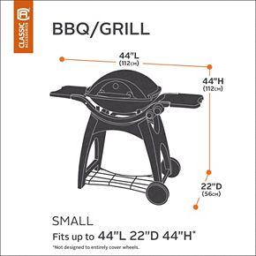 Classic Accessories Veranda Small BBQ Grill Cover