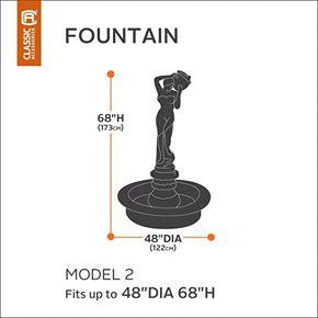 Classic Accessories Veranda Wide Fountain Cover