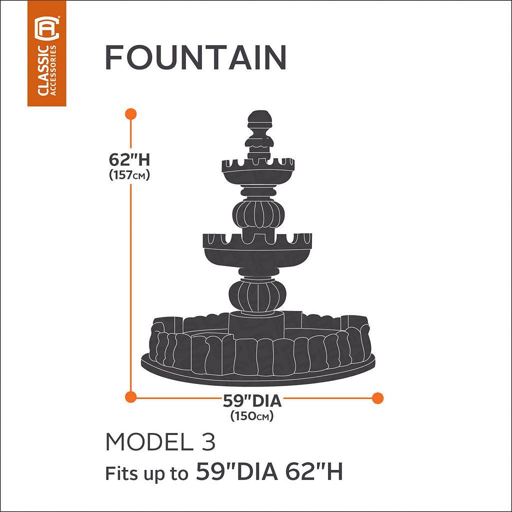 Classic Accessories Veranda Large Fountain Cover