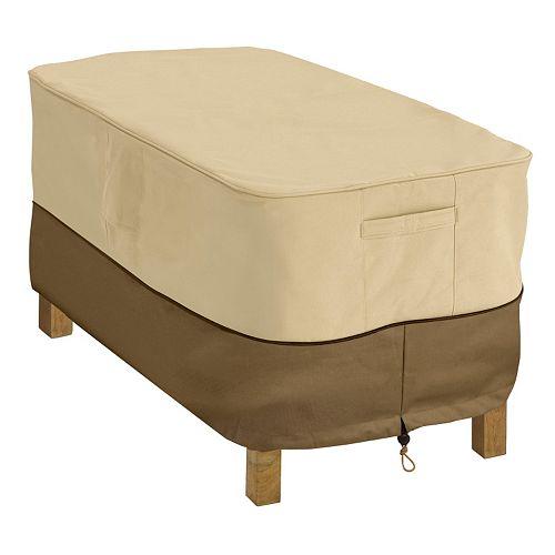 Classic Accessories Veranda Rectangular Patio Coffee Table Cover