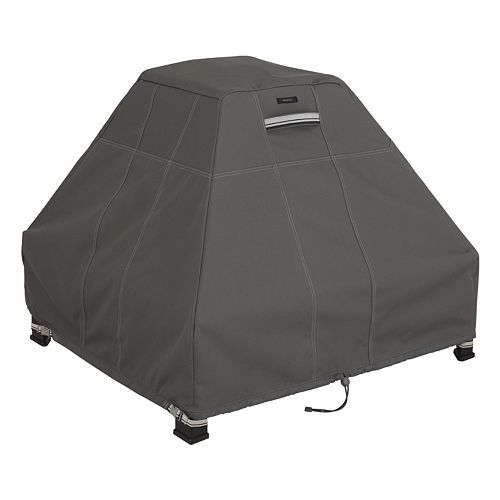 Classic Accessories Ravenna Fire Pit Stand Up Cover