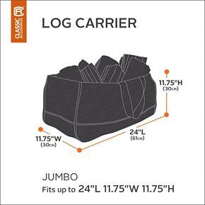 Classic Accessories Ravenna Jumbo Log Carrier