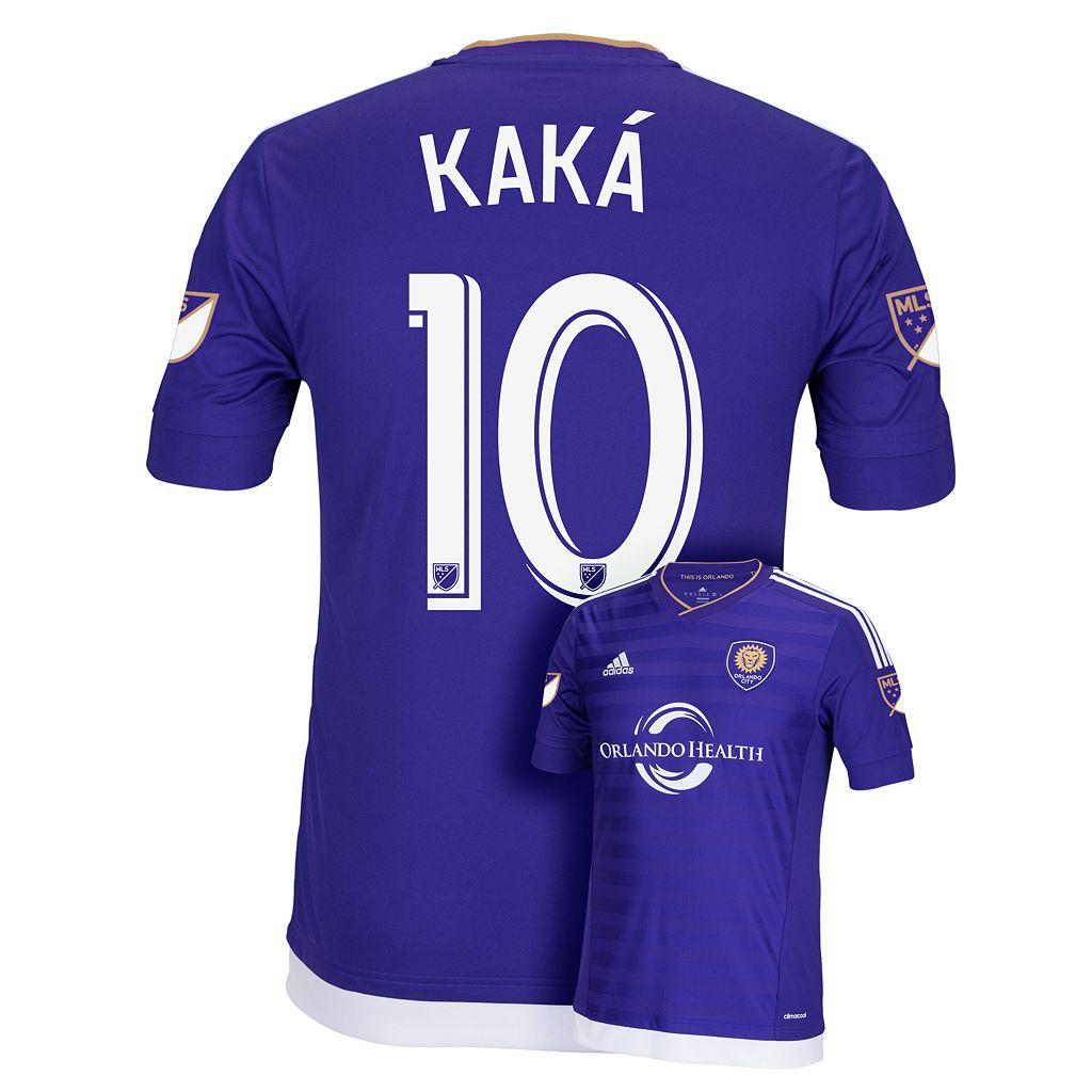 Men's adidas Orlando City SC Kaká Wordmark MLS Jersey