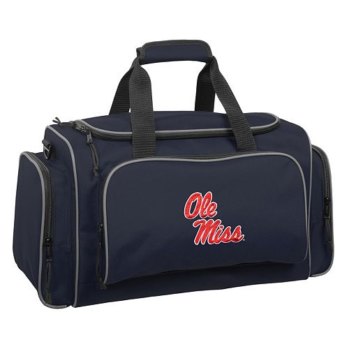 WallyBags Ole Miss Rebels 21-inch Duffel Bag