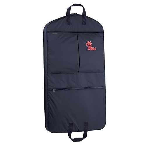 WallyBags Ole Miss Rebels 40-Inch Pocketed Garment Bag