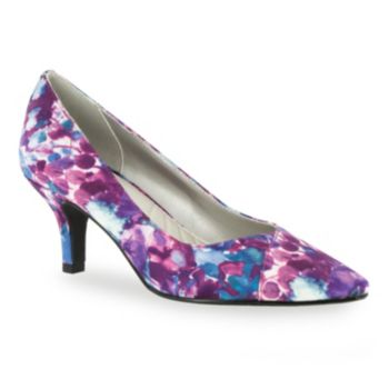Easy Street Women's Chiffon High Heels