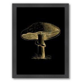 """Americanflat """"Mushroom"""" Framed Wall Art"""