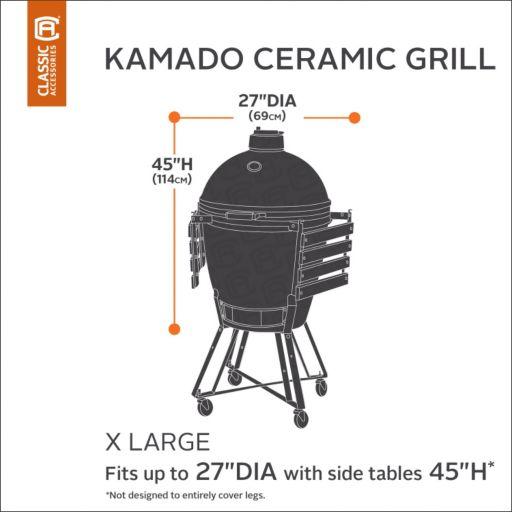Classic Accessories Ravenna X-Large Kamado Ceramic Grill Cover