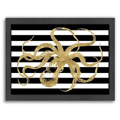 Americanflat 'Octopus' Framed Wall Art