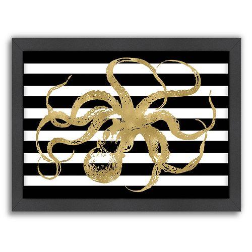 "Americanflat ""Octopus"" Framed Wall Art"