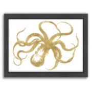 "Americanflat ""Octopus"" Framed Wall Art"