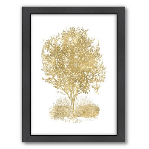 """Americanflat """"Olive Tree"""" Framed Wall Art"""