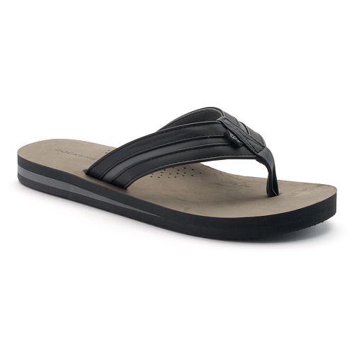 3b4a5bd33ec9 Men s Dockers Vented Footbed Flip-Flops