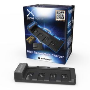Byrobot Drone Fighter Power Pack Charger with Batteries