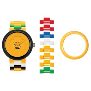 LEGO Unisex Happiness Interchangeable Watch Set - LEGO-9007347