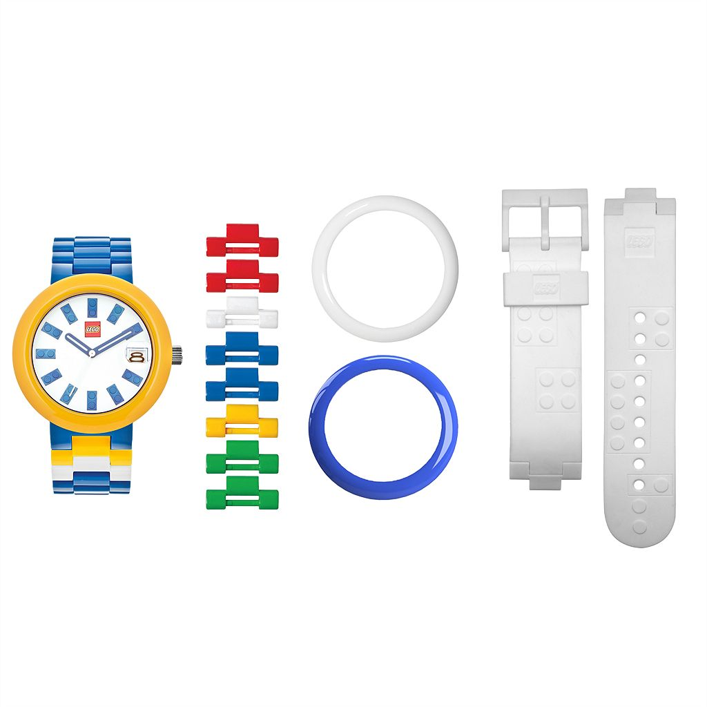 LEGO Unisex Brick Interchangeable Watch Set - LEGO-9008016