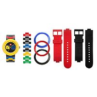LEGO Unisex Two by Two Interchangeable Watch Set - LEGO-9008030
