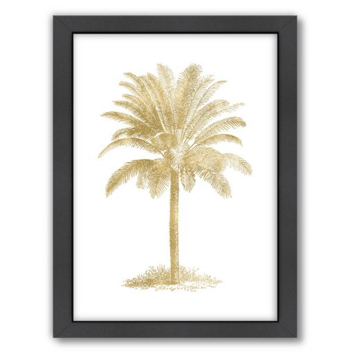 "Americanflat ""Palm Tree"" Framed Wall Art"