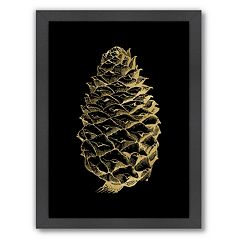 Americanflat 'Pine Cone' Framed Wall Art