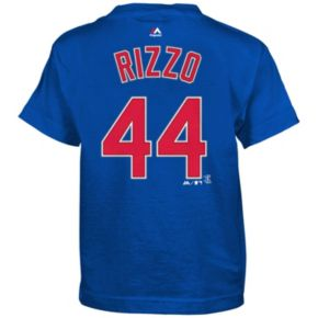 Boys 4-7 Majestic Chicago Cubs Anthony Rizzo Tee
