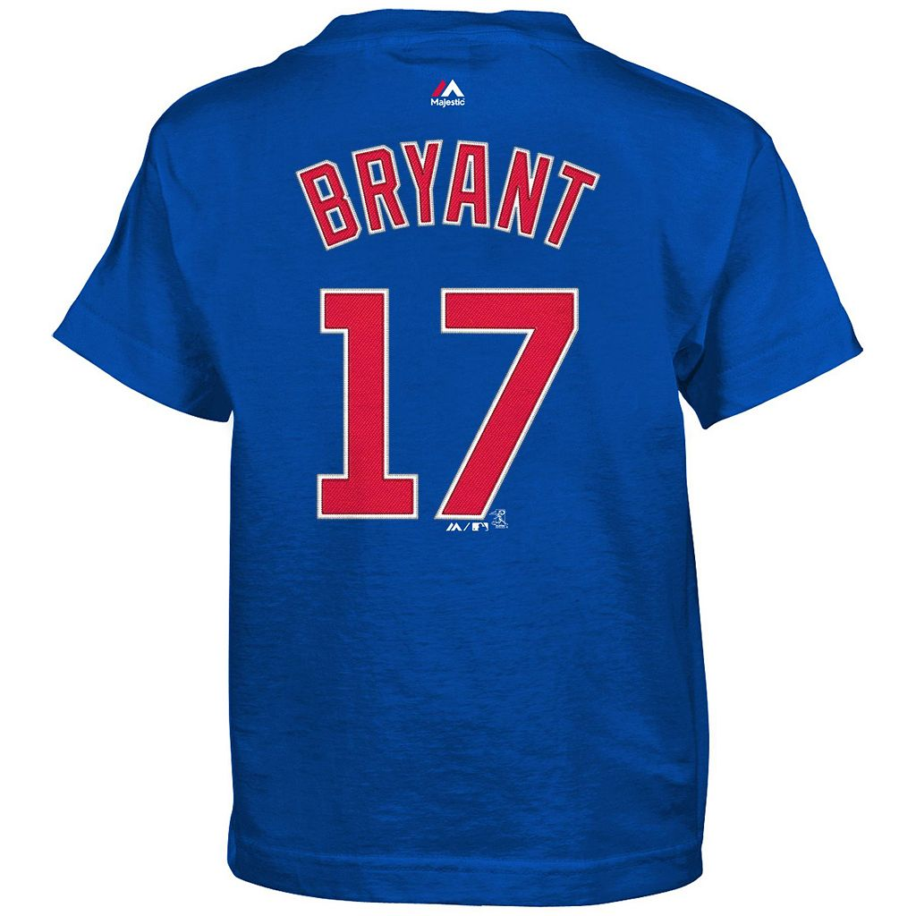 Boys 4-7 Majestic Chicago Cubs Kris Bryant Tee