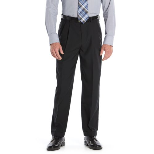 Croft & Barrow® Essential Classic-Fit Pleated Dress Pants