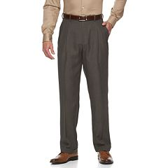 Men's Croft & Barrow® Classic-Fit Easy-Care Pleated Dress Pants