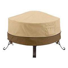 Classic Accessories Veranda Small Round Fire Pit Cover Full Coverage