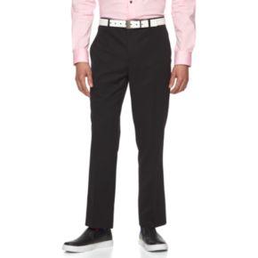 Men's WD.NY Slim-Fit Black Tuxedo Pants