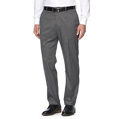 Men's Croft & Barrow® True Comfort Stretch Classic-Fit Flat-Front Suit Pants